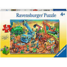 Ravensburger Construction Crew 60 pcs