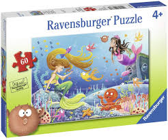 Ravensburger Mermaid Tales 60 pc