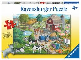 Ravensburger Home on The Range  60 pcs