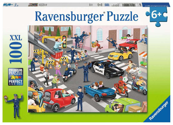 Ravensburger Police on Patrol 100 pc XXL