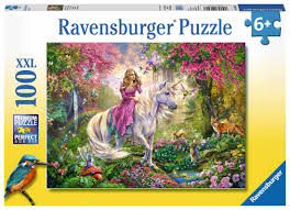 Ravensburger Magical Ride 100 pc XXL