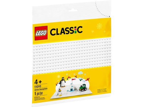 Lego White Base Plate 11010