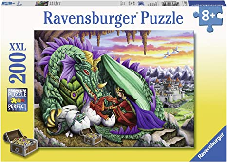 Ravensburger Queen of Dragons 200 pc