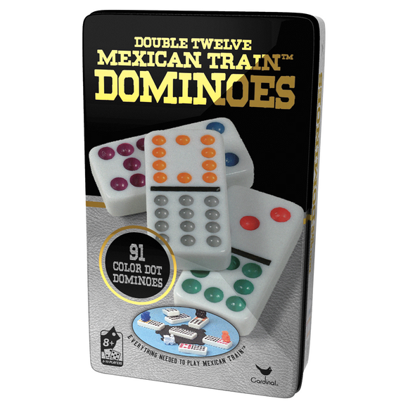 Double 12 Mexican Train Dominoes