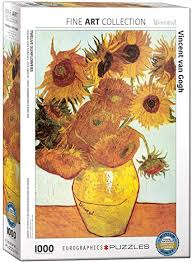 Eurographics Van Gogh 12 Sunflowers