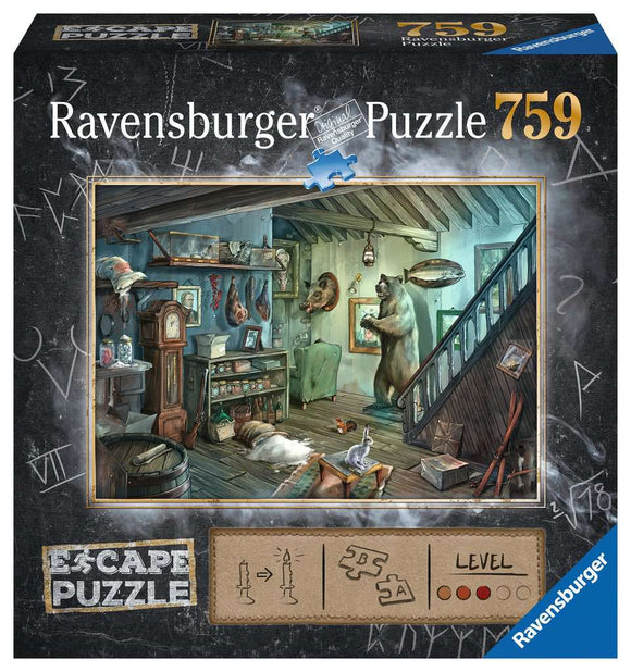 Ravensburger The Forbidden Basement 759 pc escape puzzle