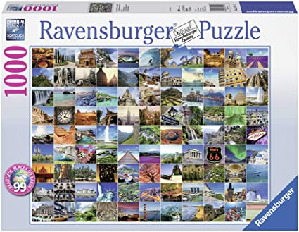Ravensburger 99 Beautiful Places on Earth 1000 pc