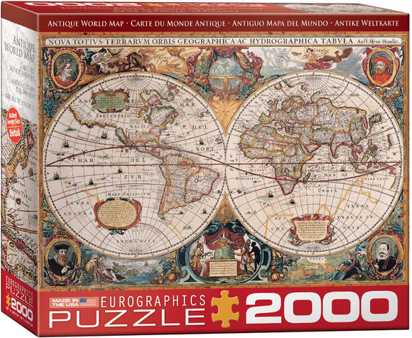 Eurographics Antique World Map 2000 pc