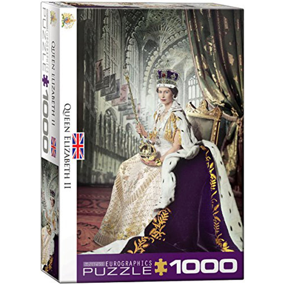 Eurographics Queen Elizabeth 1000 pc