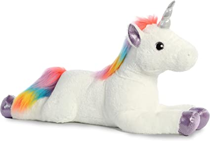 Aurora Super Flopsie Rainbow Unicorn Large