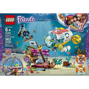 Lego Dolphins Rescue Mission 41378