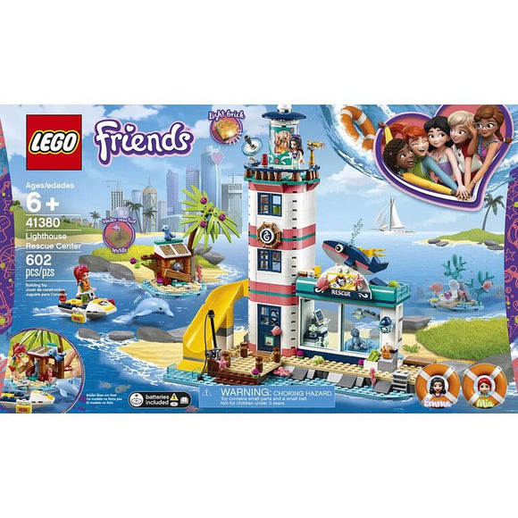 Lego Lighthouse Rescue Center 41380