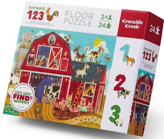 Crocodile Creek Early Learning Barnyard 24pc