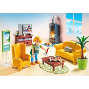 Playmobil Livingroom with Fireplace 5308