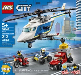 Lego Police Helicopter Chase 60243