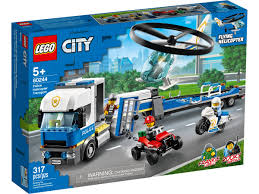 Lego Police Helicopter Transport 60244