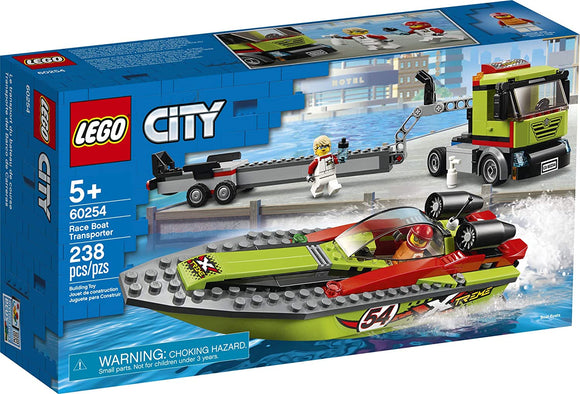 Lego Race Boat Transport 60254