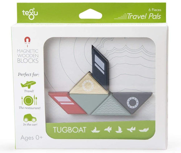 Tegu Travel Pals Tugboat