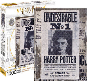 Aquarius Harry Potter Wanted Poster 1000 pc