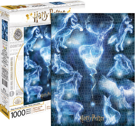 Aquarius Harry Potter Patronus 1000 pc