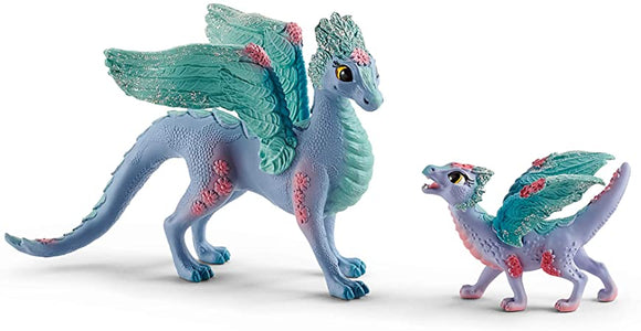Schleich Bayala Flower Dragon and Baby