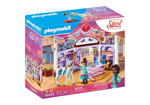 Playmobil Spirit Miradero Tack Shop 70695