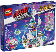 Lego Queen Watevra's 'So Not Evil' Space Palace 70838