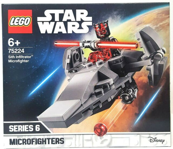 Lego Sith Infiltrator Microfighter 75224