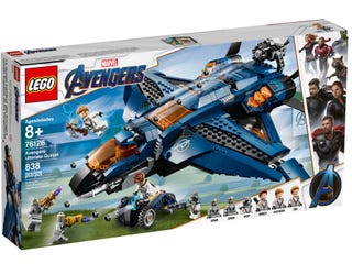 Lego Avengers Ultimate Quinjet 76126