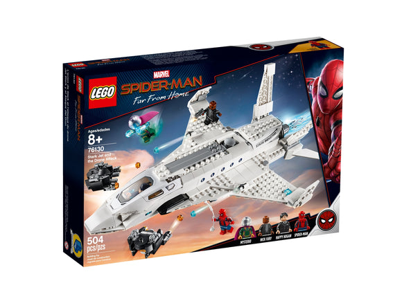 Lego Stark Jet and the Drone Attack 76130