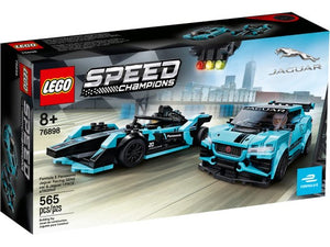 Lego Formula E Jaguar Racing Car 76898