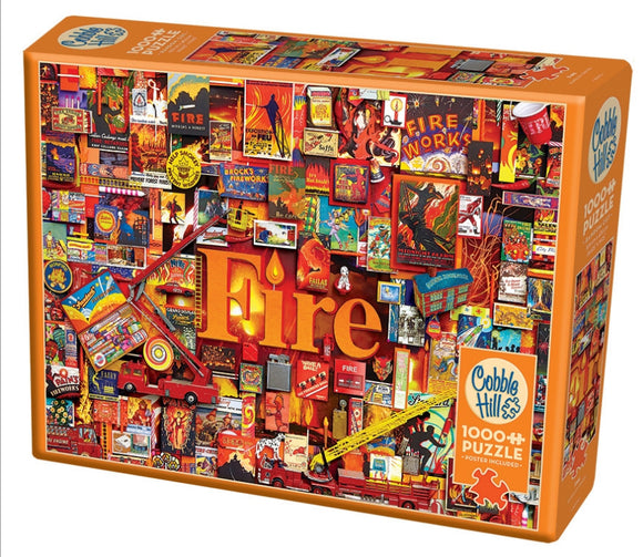 Cobble Hill Fire 1000 pc
