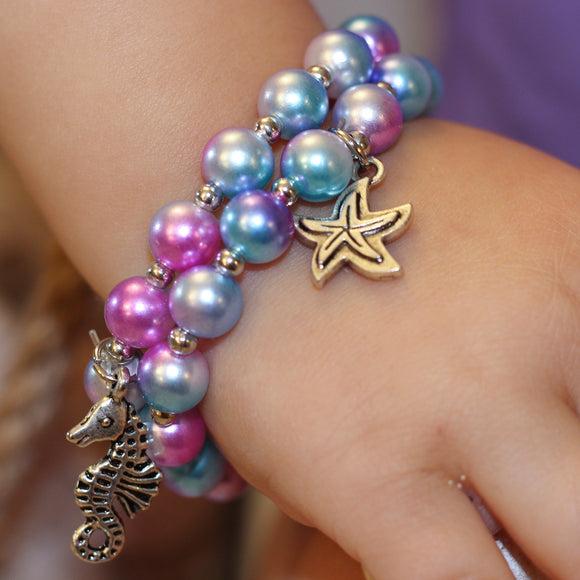 Great Pretenders Mermaid Mist Bracelet 2pc