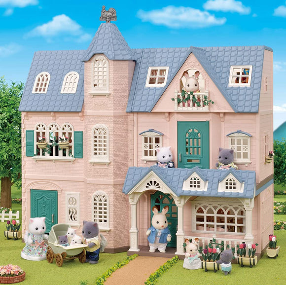 Calico Critters Deluxe Celebration Home Gift Set