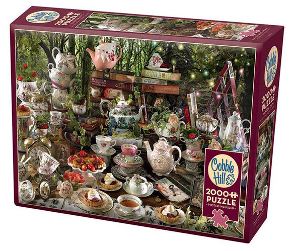 Cobble Hill Mad Hatter's Tea Party 2000 pc