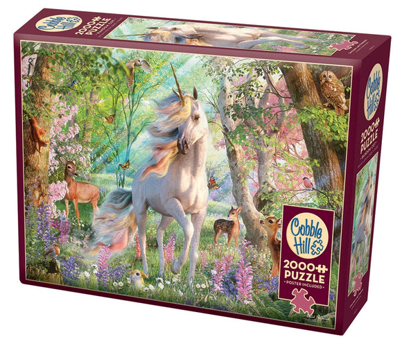 Cobble Hill Unicorn and Friends 2000 pc