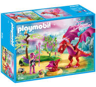 Playmobil Fairies: Friendly Dragon with Baby (9134)