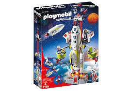Playmobil Mission Rocket with launch Site (9488)