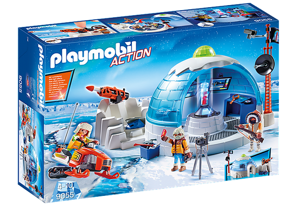 Playmobil Arctic Expedition Headquarters 9055