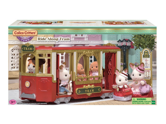 Calico Critters Ride Along Tram