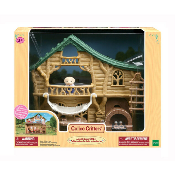 Calico Critters Lakeside Lodge Giftset