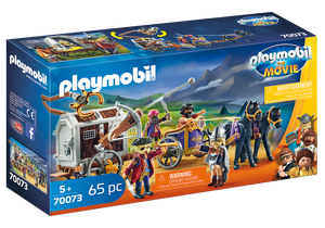 Playmobil Charlie with Prison Wagon (70073)