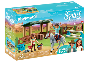 Spirit: Riding Arena with Lucky & Javier (70119)