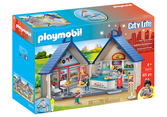 Playmobil Take Along Diner