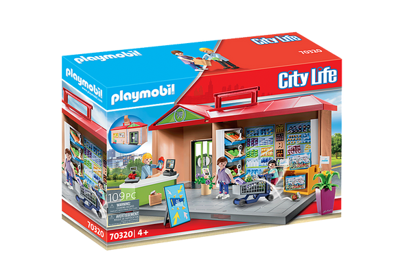 Playmobil Take Along Grocery Store 70320