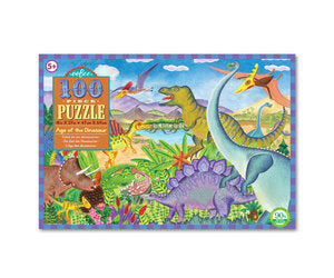 Eeboo Age of the Dinosaur 100 pc