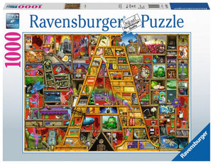Ravensburger Awesome Alphabet 'A' puzzle 1000 pc