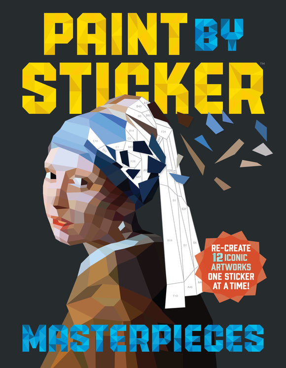 Paint by Sticker Masterpieces (10+)