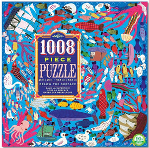 Eeboo Below the Surface puzzle 1008 pc