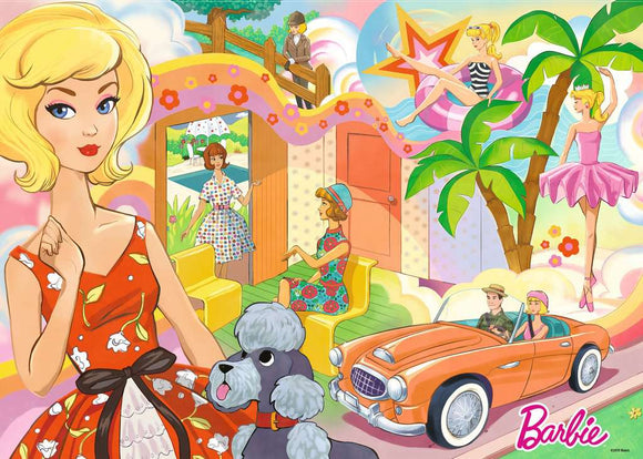 Ravensburger Vintage Barbie 1000 pc